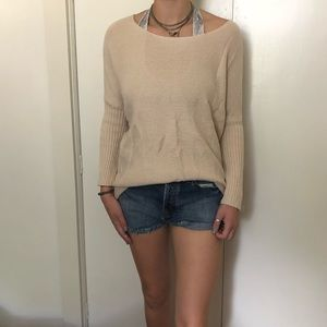 Sweaters - Cream Sweater - great for fall